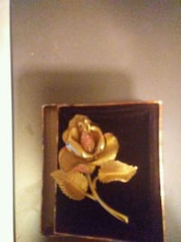 Gold plated? Rose pin for wifey Winnipeg, R3R