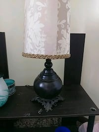 black and white table lamp Springfield, 65806