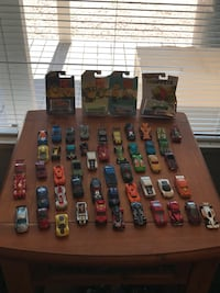 Cars! 50-Hot Wheel used cars and 4 Brand New