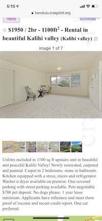 HOUSE For rent 2BR Honolulu, 96819