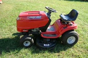 Troy Build riding mower
