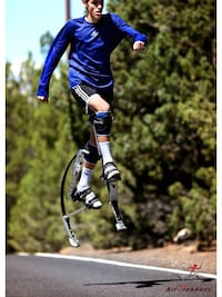 Airtrekker jumping stilts. $225 Morro Bay, 93442