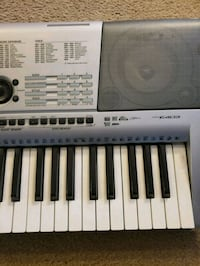 gray and white Casio electronic keyboard Fairburn, 30213