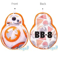 *SALE! 50CM BIG Japan Star Wars The Force Awakens Movie BB-8 Die-cut Cushion Pillow Plush        [Toreba] Singapore