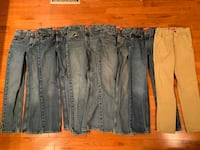 Boys Size 14 Slim Arizona Jean Lot Stafford, 22556
