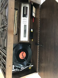 Antique 8 track record player