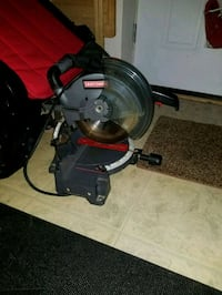 red and gray miter saw Frederick