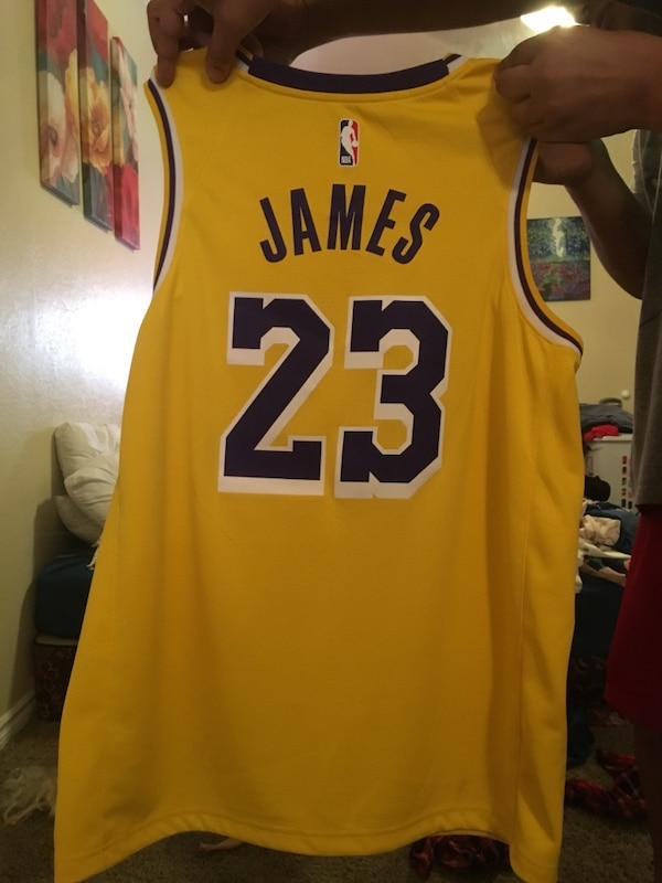 huge discount 90be7 2b5bf Lebron Lakers Jersey