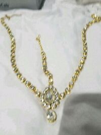 gold-colored chain necklace Surrey, V3W 0S9