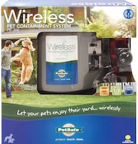Pet smart wireless fence w waterproof receiver like new used only for a couple of days. Paid over 300 for it , still have the reciet Incase you have any problems Nashville, 37221