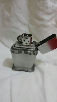 Usa vintage zippo desk lighter table 1950 yıllar