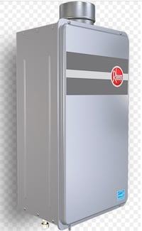 Rheem Platinum Gas Tankless water heaters provides all the hot you'll ever need for 2 - 3 bathroom homes, PVC or CPVC S636 approved venting for an economical vent option. Next Generation Burner Technology. 0.26 GPM Minimum Flow Rate, .40 GPM Minimum Activ