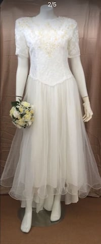Vintage Chic Wedding Gown Size 12 Kissimmee, 34744