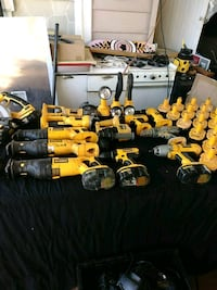 assorted-color power tool lot Lockport, 70374