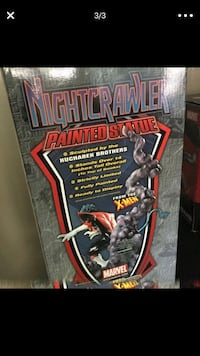 Nightcrawler painted statue box screenshot Beltsville, 20705