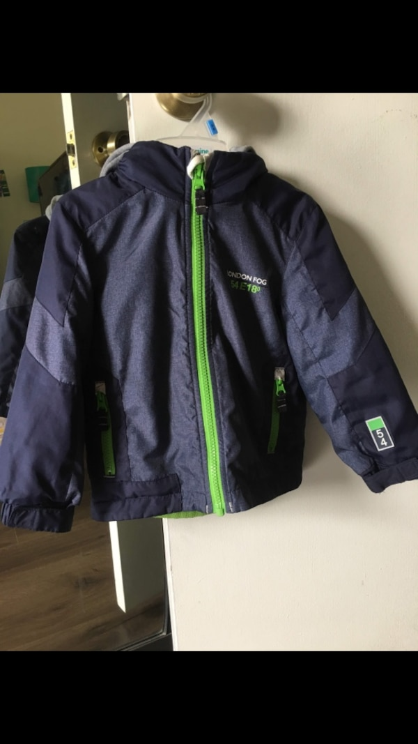 1b8f99e78 Used London fog boys 2T jacket with fleece lining for sale in ...