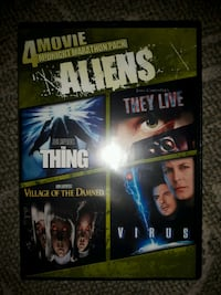 4 Movie Midnight Marathon Pack: Aliens (DVD) Toronto, M6H 1P2