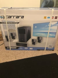 Carrara (C-2000) 5.1 home theater system ( speakers only)