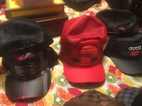 red and black Chicago Bulls fitted cap Kitchener, N2E 4J5