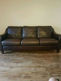Brown Leather Sofa Frederick, 21703