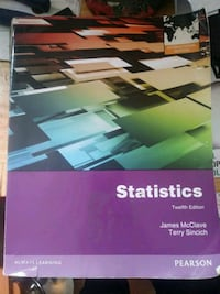 12 edition statistics book Smyrna, 37167