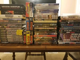 DVDs Anime and cars