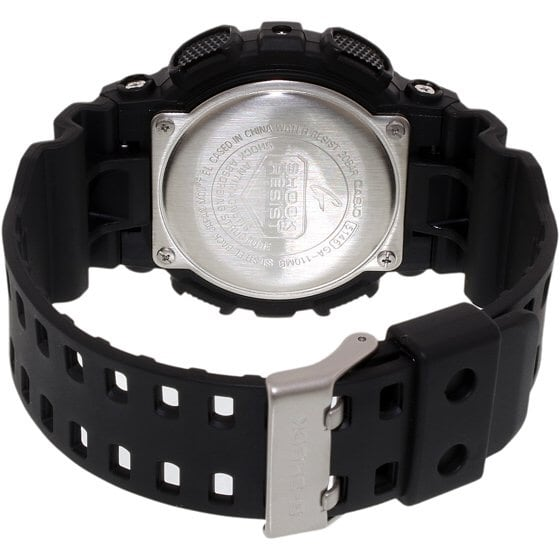 CASIO G-SHOCK military watch GA-110MB black with red accents 25d28b9a-ecf1-483a-94e5-797a519a64a6