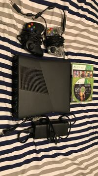Black xbox one console with controller and game cases Edmonton, T5X 3J3