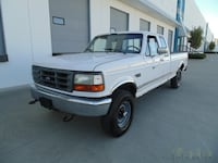 1997 Ford F-250 4X4 5 SPEED MANUAL A/C LOCAL BC NEW WESTMINSTER