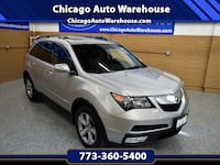2012 Acura MDX SH-AWD - Only 44k Miles  Automatic, AWD, V6, Automatic, Sunroof, Leather, heated seats, back up camera,alloy wheels, 3rd row seat, keyless entry , very low miles for the year, Bluetooth, power tailgate, tow hitch, remote keyless entry, clea Chicago, 60625
