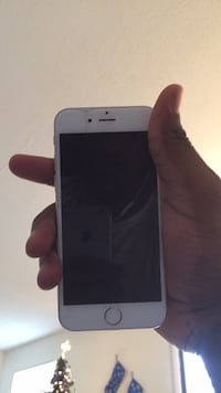 Silver iphone 6 with black case North Chesterfield, 23225