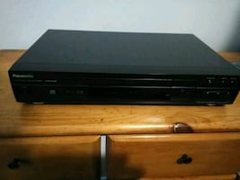Panasonic DVD player with remote