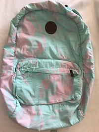 Billabong Teal & Pink Floral Backpack