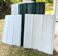 Pieces of Sheet Metal (priced separately) Summerville