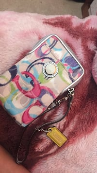 Authentic coach phone clutch  Sherwood Park, T8A 5K4