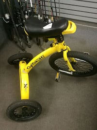 yellow and black BMX bike Clarksville, 47129