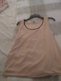 Almost powder pink top