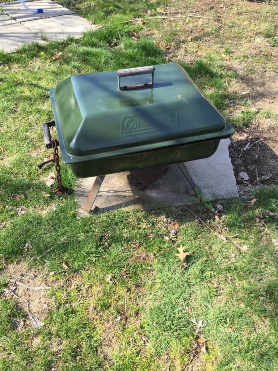 Used Old school Coleman fire pit in Billerica
