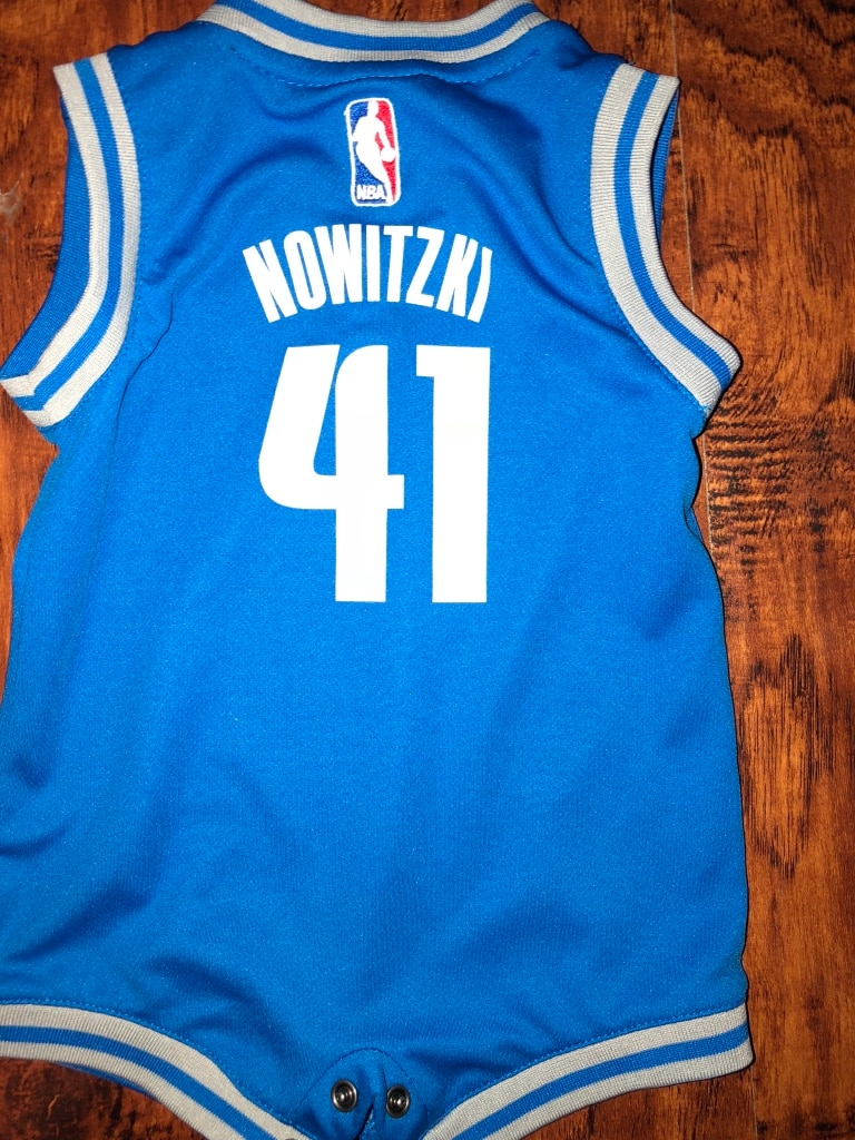 reputable site a8d77 2a28c coupon code for dirk nowitzki baby jersey 75d0c 511f4