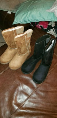 Never worn boots black or wheat New Orleans, 70113