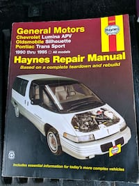 Haynes manual for GM Lumina silhouette& transport Niagara Falls, L2E 3K9