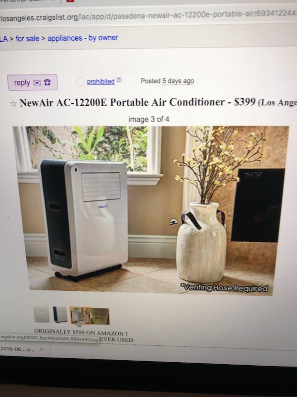 newair air portable conditioner