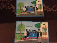 Thomas the train blocks puzzles  Manassas, 20110