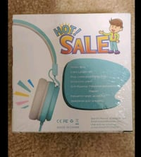 Kids headphones ,wit mic wired headset foldable children  Gaithersburg, 20878