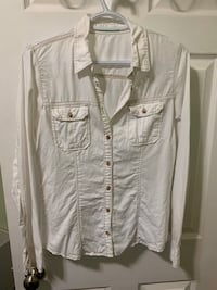 Maurice's White Button Up