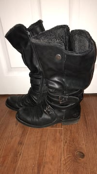Black boots with lining Guelph, N1H 6V9