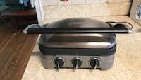 black and gray Hamilton Beach panini press Brentwood, 20722