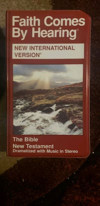 The Bible New Testament on Cassette