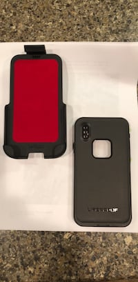 IPHONE X Lifeproof case and holder. NEW West Lafayette, 47906