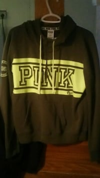 black and yellow The North Face pullover hoodie Winnipeg, R2W 3S4